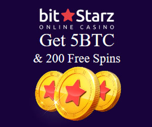 Latest bonus from BitStarz